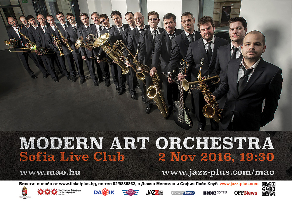 Modern Art Orchestra Live in Sofia - 2 Nov 2016 20