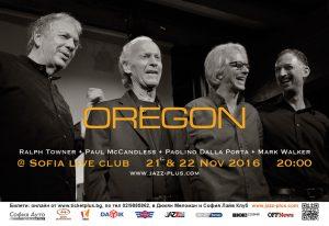 ОРЕГОН в София Лайв Клуб на 21 и 22 ноември 2016 27